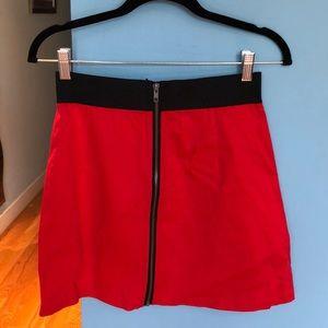 BB DAKOTA Skirt size 8 - Red